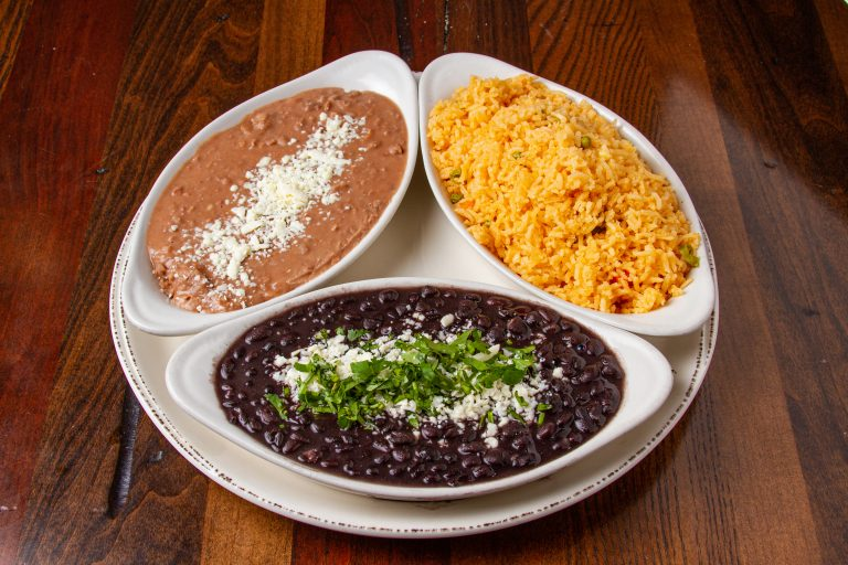 rice-green-red-bean-mexican-food